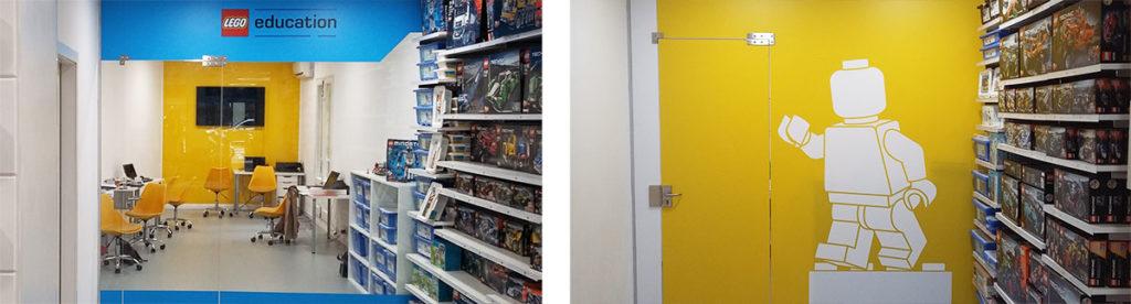 aula divage 1024x276 - La tienda LEGO Barcelona redecora su aula