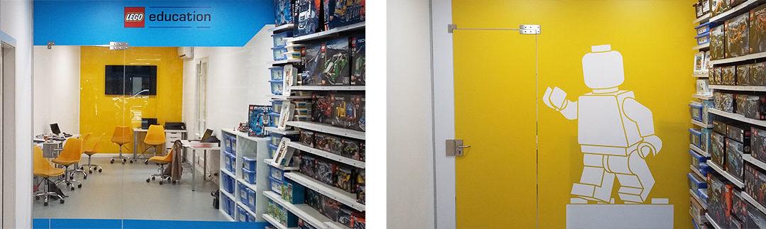 La tienda LEGO Barcelona redecora su aula