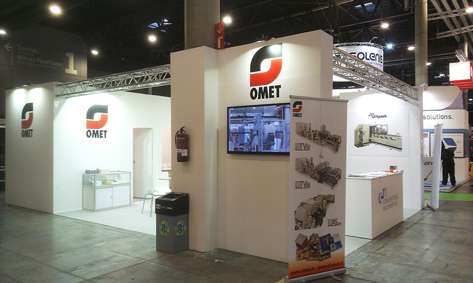 omet 4 - Stand CONVERTING MACHINERY