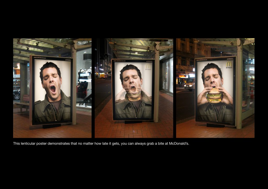 maccas 1024x724 - DP lenticular launches first lenticular sheet in large format with motion effects